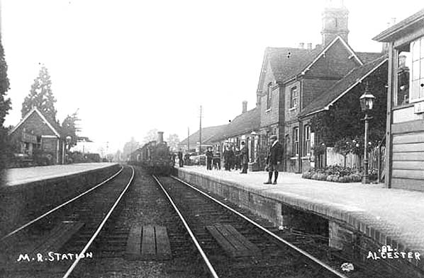 Disused Stations Alcester Station