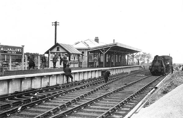 Disused Stations Allhallows On Sea Station