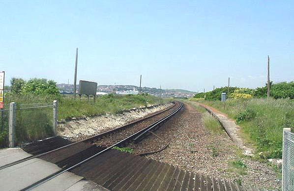 Disused Stations Bishopstone Beach Halt