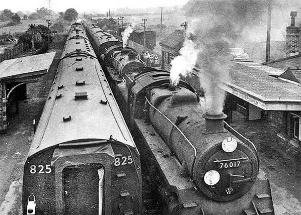 Fordingbridge Breamore Railway Station Photo Downton 11 West Moors Line.