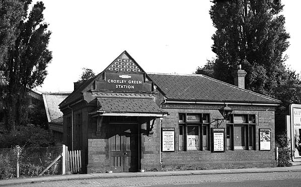 Disused Stations Croxley Green Station