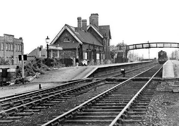 2 West Hallam Railway Station Photo Breadsall Derby Line. Ilkeston