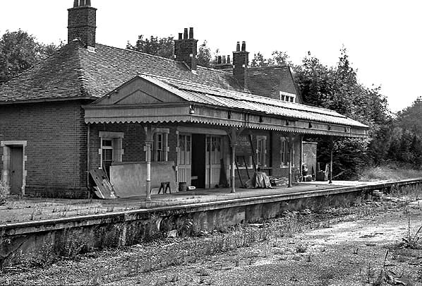 Disused Stations Droxford Station