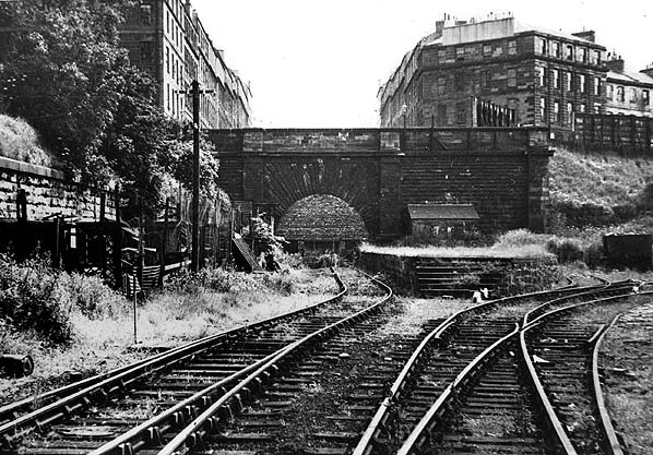 Disused Stations Edinburgh Scotland Street Station