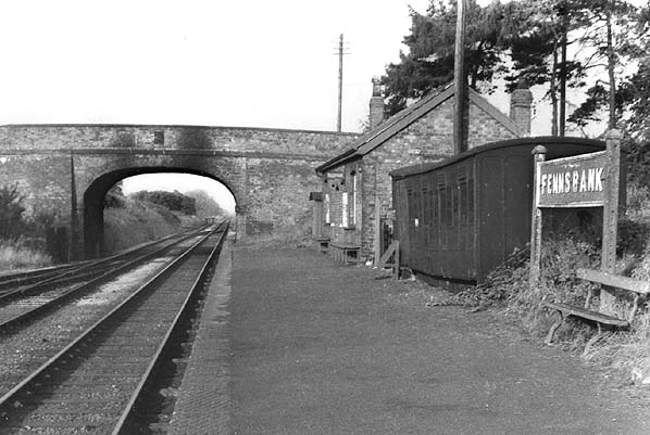 Disused Stations Fenn S Bank Station