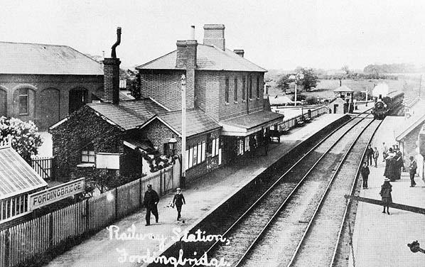 Disused Stations Fordingbridge Station