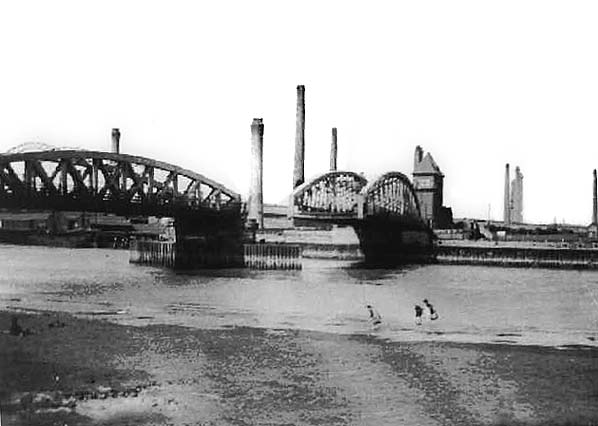 Hawarden Bridge, 1910