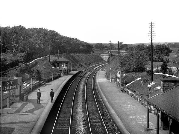 Disused Stations Great Longstone Station