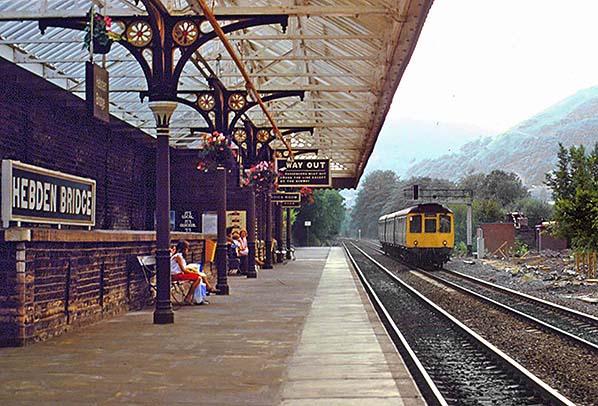 Disused Stations Hebden Bridge Station
