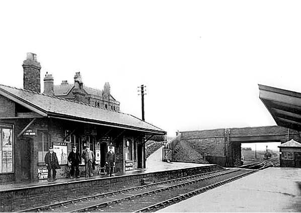 North Staffordshire Railway. 3 Macclesfield Central Railway Station Photo