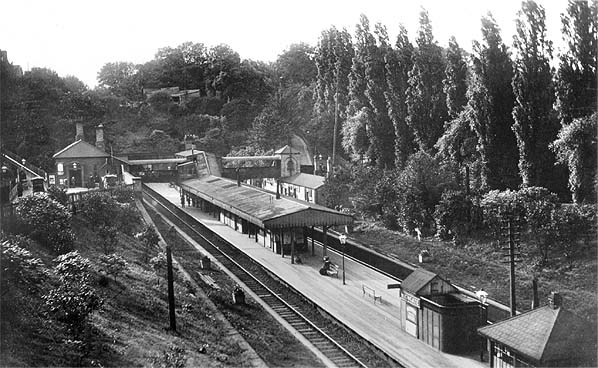 At the railway station in 1940 9