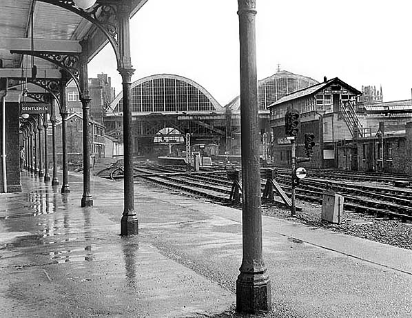 Kings Cross York Road Station in c. late 1960's. Photo by John Gay