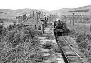 Disused Stations Kirknewton Station