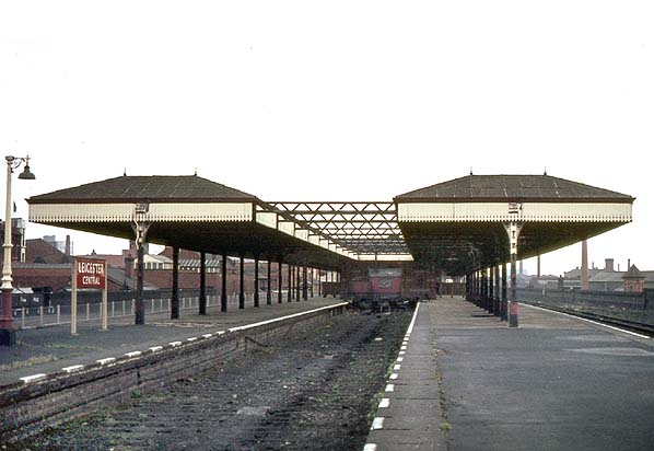 Disused Stations Leicester Central Station