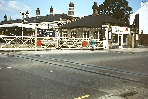 Disused Stations Lincoln St Matks Station