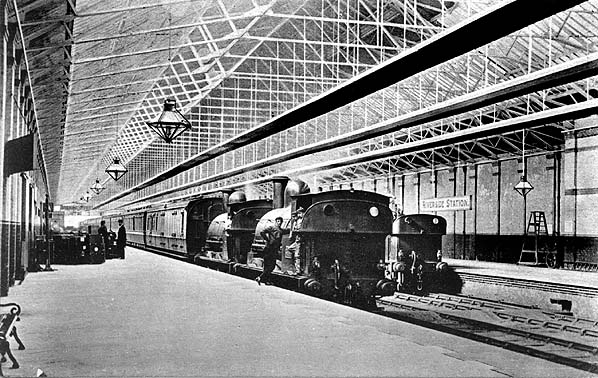 5 Waterloo Railway Station Photo Lancashire /& Yorkshire Rly. Liverpool Area