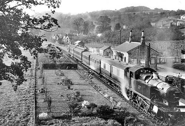 Moretonhampstead Railway Station Photo 10 Bovey /& Heathfield Line Lustleigh