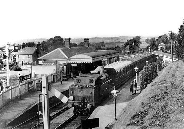 Disused Stations Lyminge Station