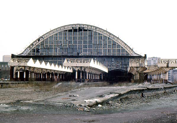 Disused Stations Manchester Central Station