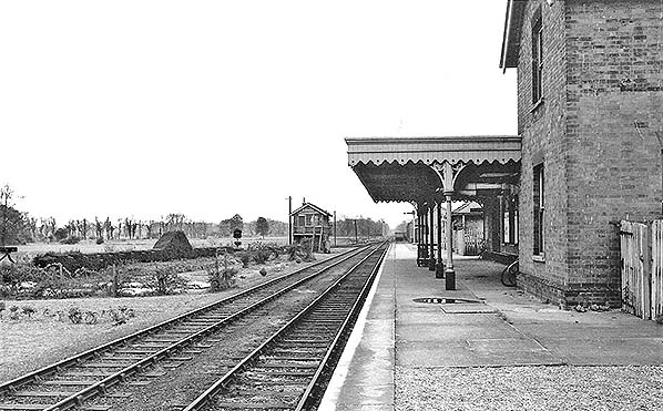 Disused Stations Mildenhall Station