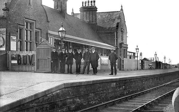 Disused Stations Newbiggin Station