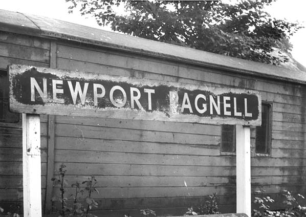 Disused Stations: Newport Pagnell Station