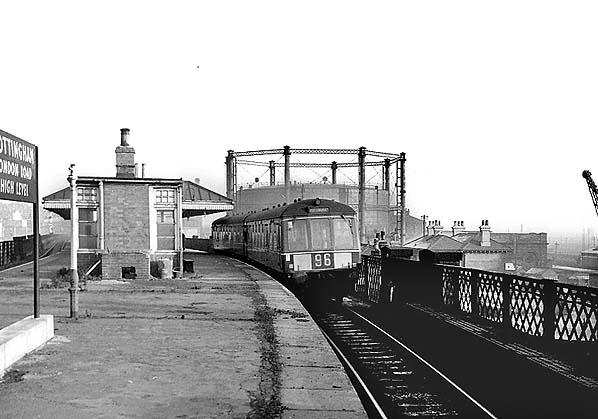 Disused Stations Nottingham London Road High Level Station