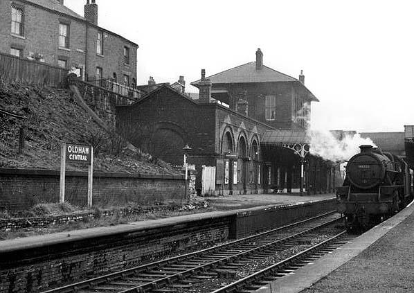 disused stations oldham central station. Black Bedroom Furniture Sets. Home Design Ideas