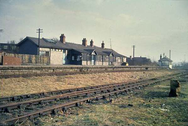 West Branch Ford >> Disused Stations: Ponteland Station