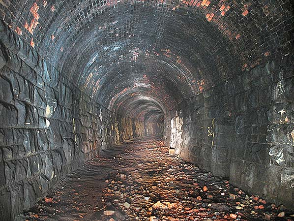Disused stations ravenscar tunnel for N portal