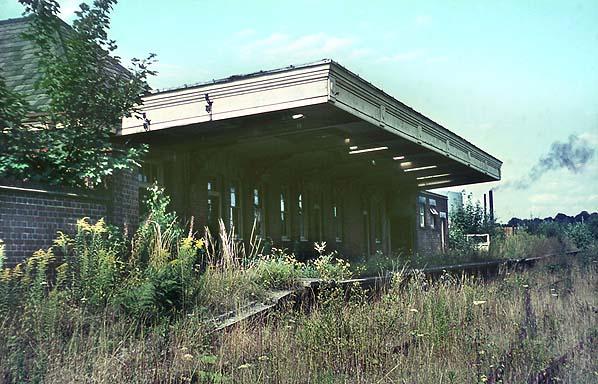 Disused Stations Rickmansworth Church Street Station