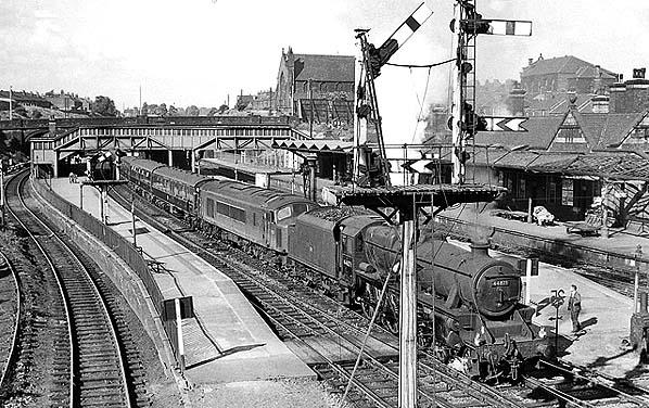 Disused Stations Rotherham Masborough Station