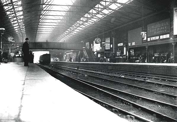 londres sheffield train