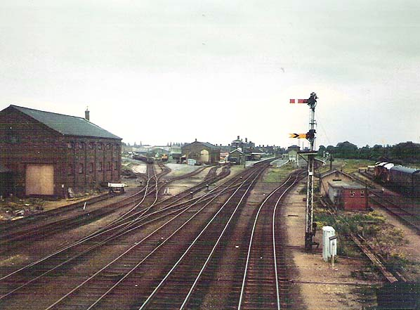 Disused Stations Spalding Station