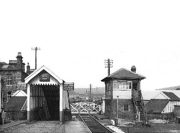 Waterfoot Bacup Stacksteads Railway Station Photo 8 LYR Rawtenstall Line