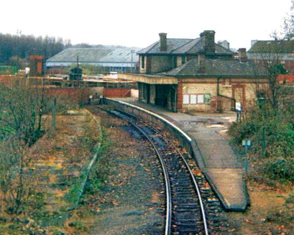 Disused Stations Sudbury Station