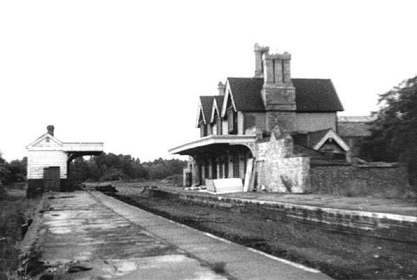 Disused Stations Thrapston Bridge Street Station