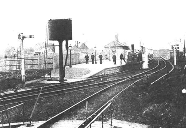 Hoyake 1 West Kirby Railway Station Photo Caldy Birkenhead Joint Railway.