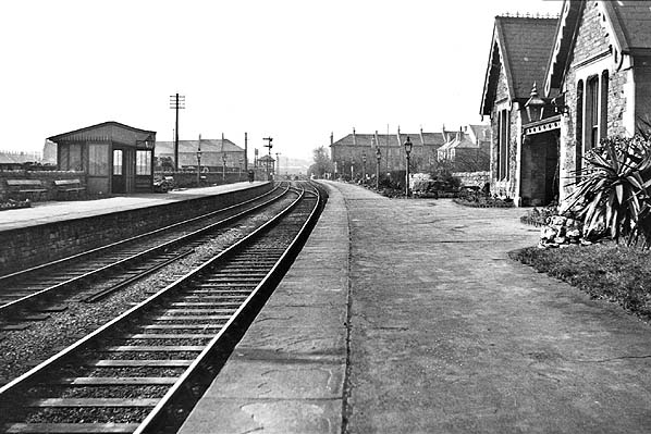 Weston Station (looking West) in 1932