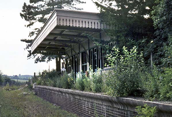 Disused Stations: Wheathampstead Station